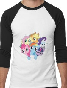 Mane Six Break Out! Men's Baseball ¾ T-Shirt