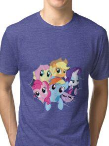 Mane Six Break Out! Tri-blend T-Shirt