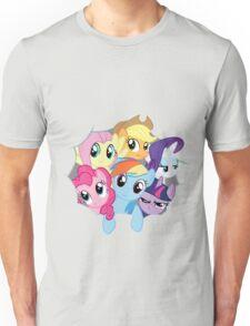 Mane Six Break Out! Unisex T-Shirt