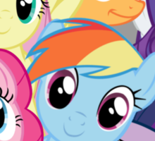 Mane Six Break Out! Sticker