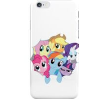 Mane Six Break Out! iPhone Case/Skin