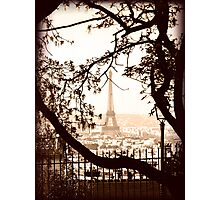 Paris Skyline from Sacre Coeur Photographic Print