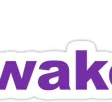 Wake Sticker