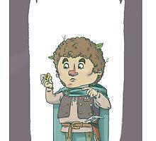 Bilbo Baggins by Skulldixon