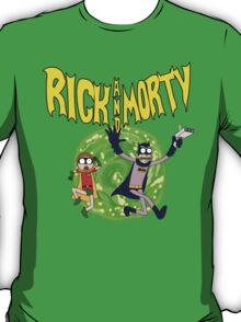 Rick and Morty Batman Reality T-Shirt