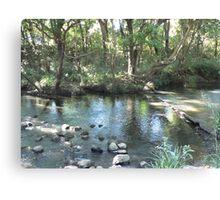 Reflections - Lansdowne River Canvas Print