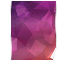 Multicolor Geometric Background 5 Poster