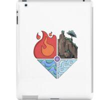 Earth, Fire, Wind, Water iPad Case/Skin