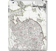 Map of China, Korea, Japan and Formosa - Bonne - 1770 iPad Case/Skin
