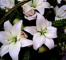 """A Basket of Lilies . ."" by lurline"