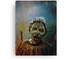 The Lonely assassin or weeping Angel Canvas Print