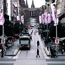 The beautiful Bourke Street by sebastian