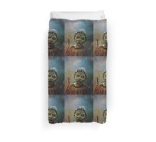 The Lonely assassin or weeping Angel Duvet Cover