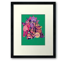 The Banana Splits Framed Print