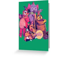 The Banana Splits Greeting Card