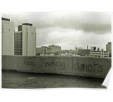 Sydney Skyline circa 1982  Poster