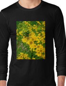 Small Yellow flowers Long Sleeve T-Shirt