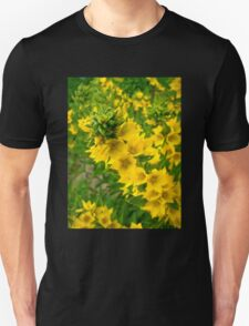Small Yellow flowers Unisex T-Shirt