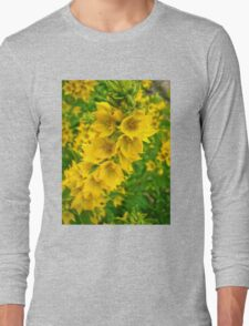 Small Yellow flowers 2 Long Sleeve T-Shirt