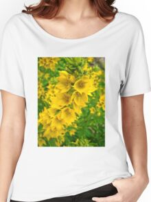 Small Yellow flowers 2 Women's Relaxed Fit T-Shirt