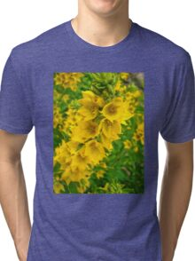 Small Yellow flowers 2 Tri-blend T-Shirt