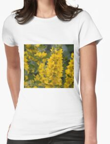 Small Yellow flowers 3 Womens Fitted T-Shirt