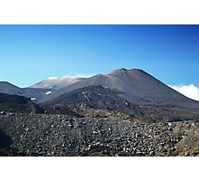 Near Etna's Summit Photographic Print