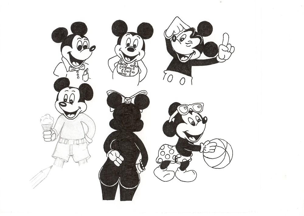 Mickey Collage by bigjninja