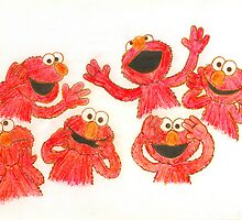Elmo by bigjninja