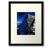 Eiger - North Face Framed Print