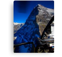 Eiger - North Face Canvas Print