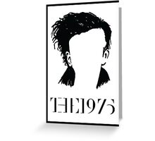 Matt Healy The 1975 Logo Greeting Card