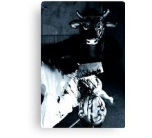 Meat your maker Canvas Print