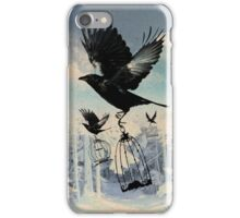 Crow thief iPhone Case/Skin