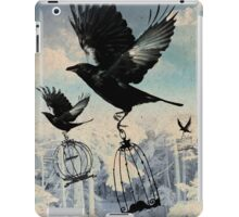 Crow thief iPad Case/Skin