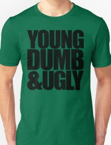 Weird Al - Young Dumb & Ugly (in Black) T-Shirt
