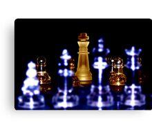 Depth of Chess Canvas Print