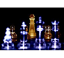 Depth of Chess Photographic Print