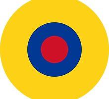 Roundel of the Ecuadorian Air Force  by abbeyz71