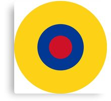 Roundel of the Ecuadorian Air Force  Canvas Print
