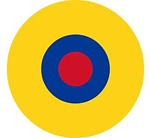 Roundel of the Ecuadorian Air Force  Photographic Print