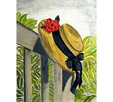 Summer Hat Photographic Print