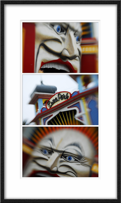 Melbourne Icons - Luna Park by Sue Wickham