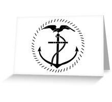 Roundel of the Ecuadorian Naval Aviation Greeting Card