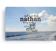 Nathan Metal Print
