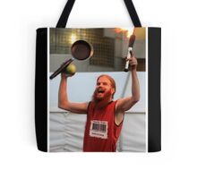 poverty olympics 2008 Tote Bag