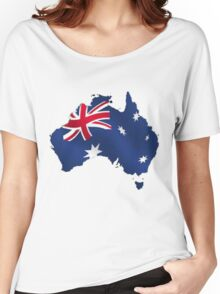 Australia Day Women's Relaxed Fit T-Shirt