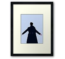 Sherlock The Reichenbach Fall Framed Print