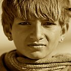 A rajahstani boy.. by inge