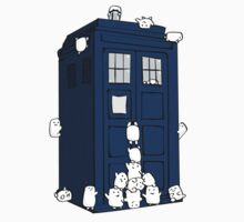 The Adipose Have the Tardis Kids Clothes